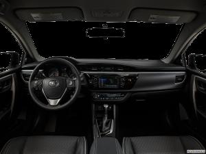 toyota corolla cockpit