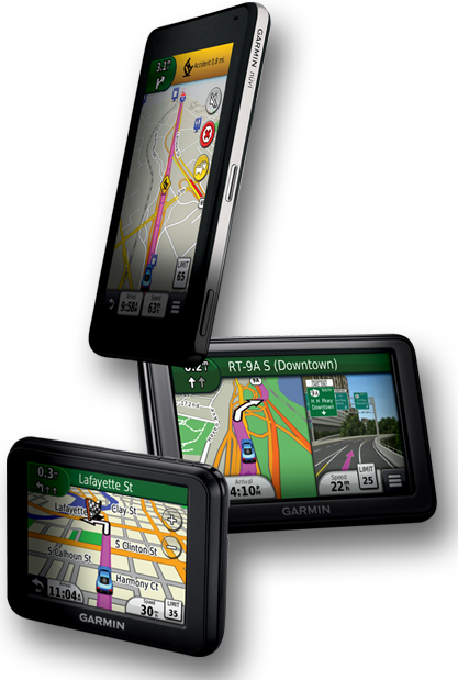 PNG Garmin GPS