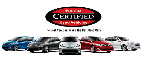Toyota Certified Vehicles